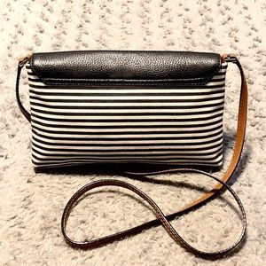 kate spade Bags - Kate Spade NY striped crossbody paid $325
